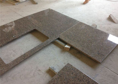 China Tropische Brown-Granit Fertigsteincountertops-eleganter Auftritt usine